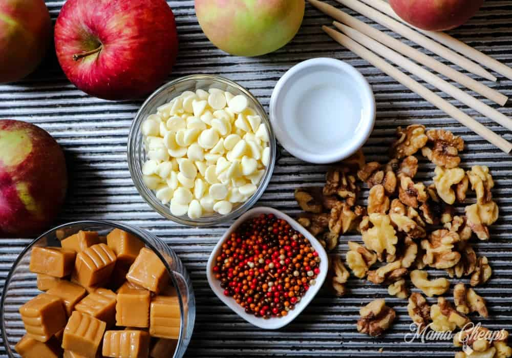 Caramel Apples Ingredients