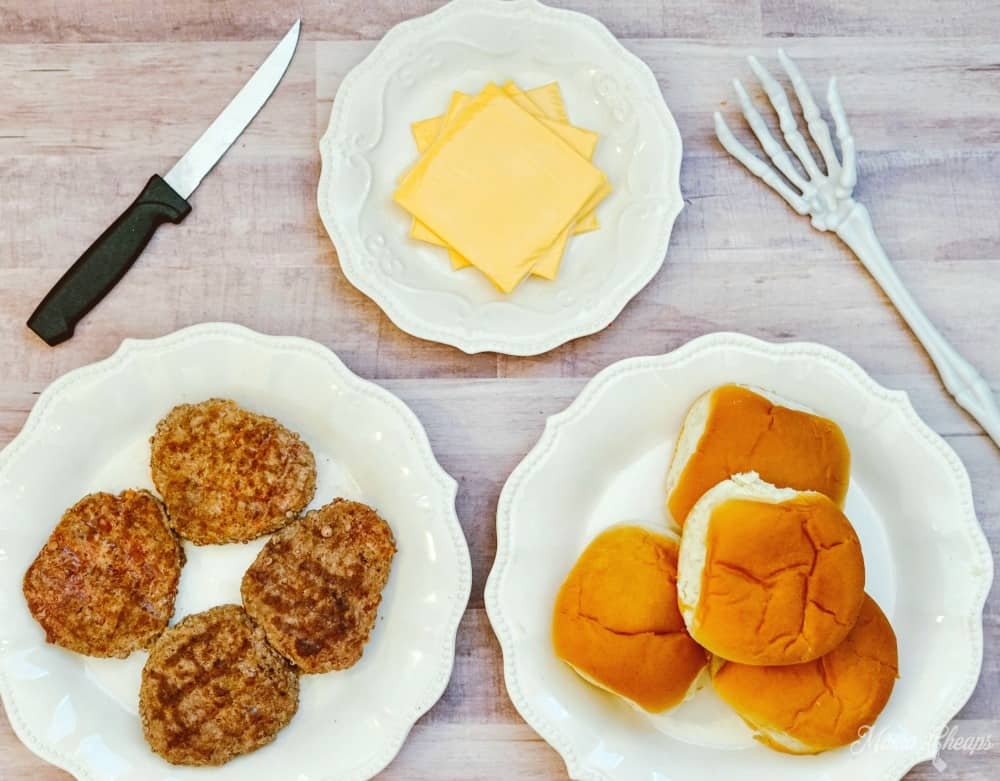 Cheeseburger Supplies