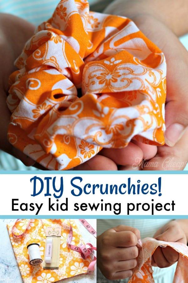 DIY Scrunchies!