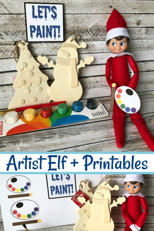 Elf on the Shelf Artist PIN 1
