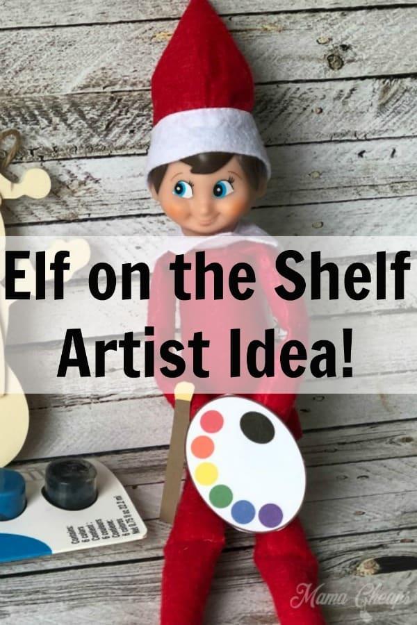 Elf on the Shelf Artist PIN 2