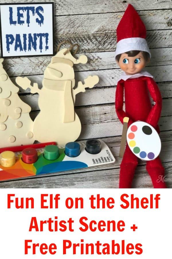Elf on the Shelf Artist PIN 3