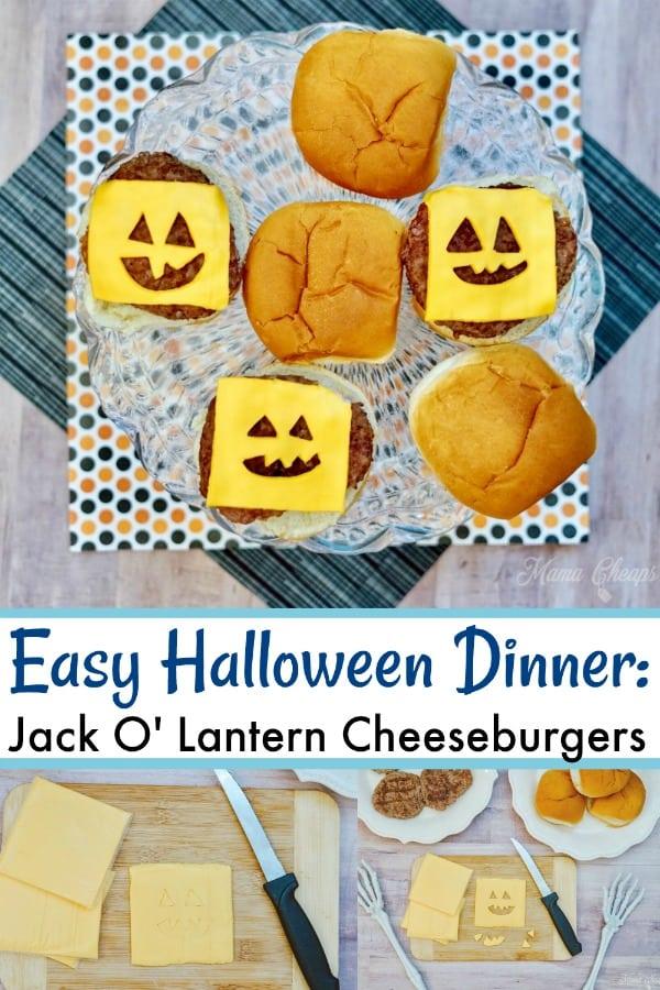 Jack O' Lantern Cheeseburgers PIN 1