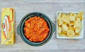 Salsa in slow cooker