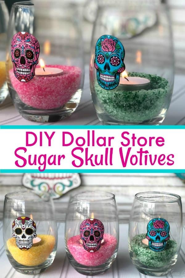 Sugar Skull Votives PIN 3