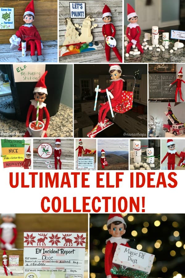 ULTIMATE ELF IDEAS COLLECTION PIN 1