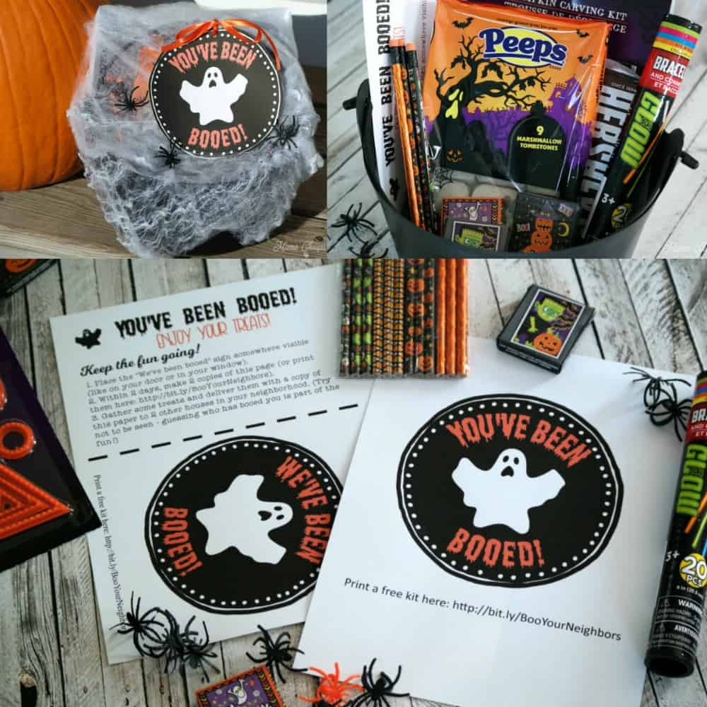 boo your neighbors kit collage