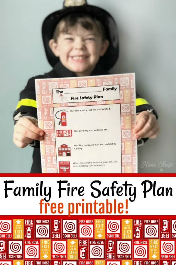 family fire safety PIN 1
