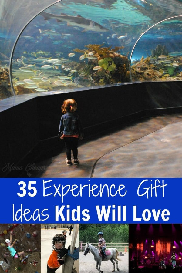 35 Experience Gift Ideas Kids Will Love