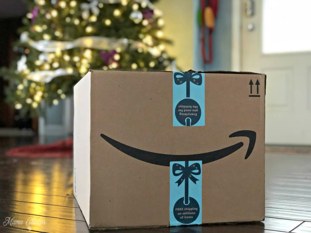 Amazon Box Christmas Tree