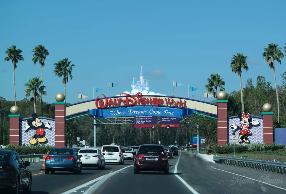 Disney Main Gate