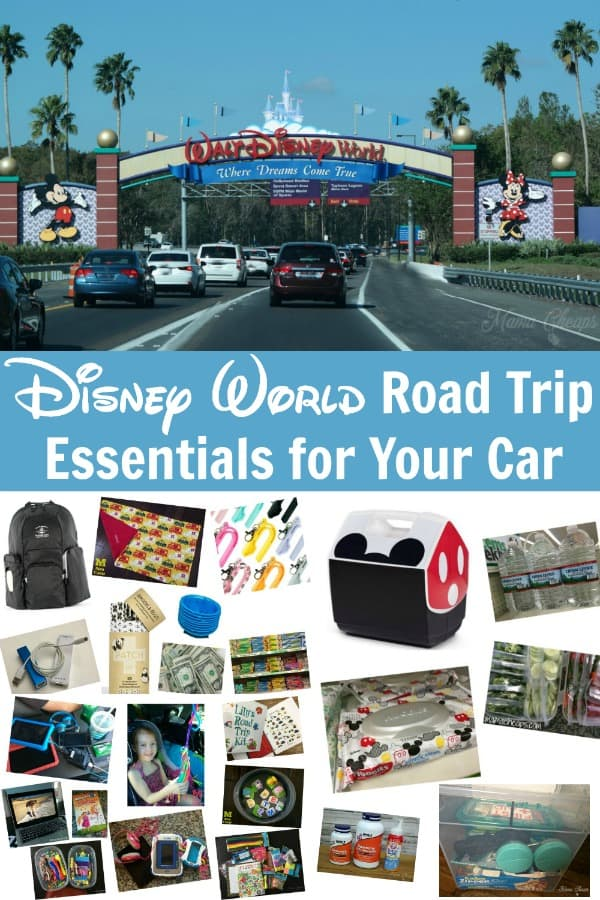 Disney World Road Trip Essentials for Your Car PIN