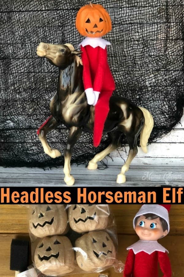 Headless Horseman Elf PIN
