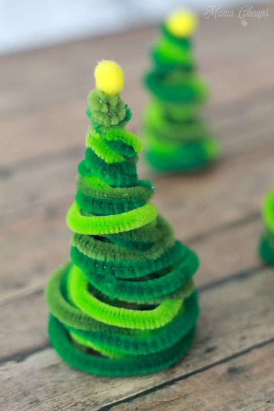 Pipe Cleaner Tree Crafts