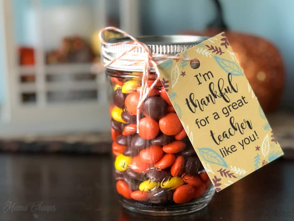 Reeses Thankful Gift
