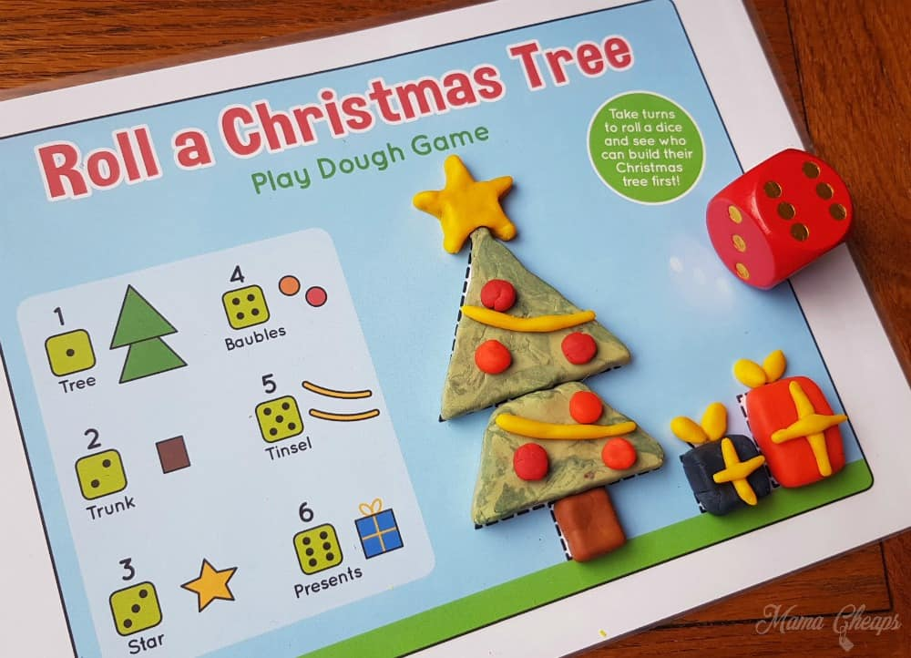 Roll a Christmas Tree Mat 3