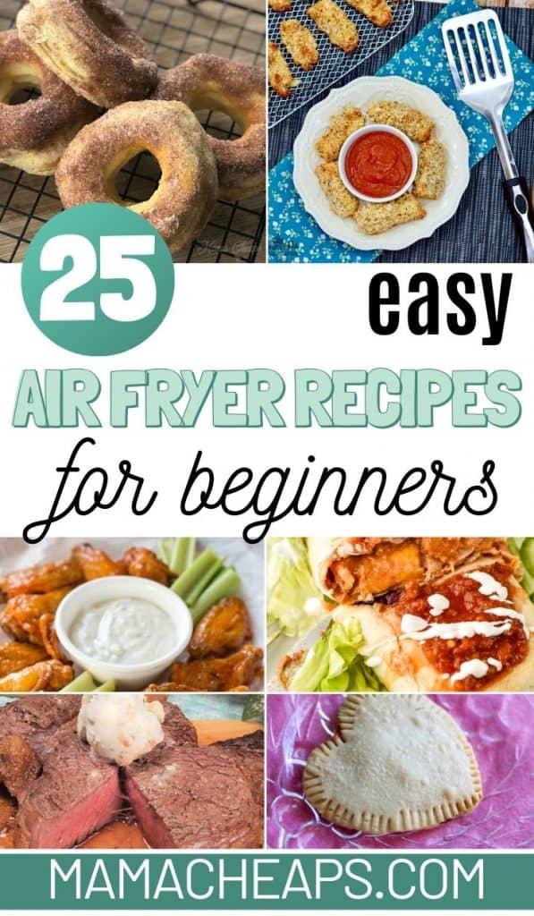 Air Fryer Beginner Recipe PIN