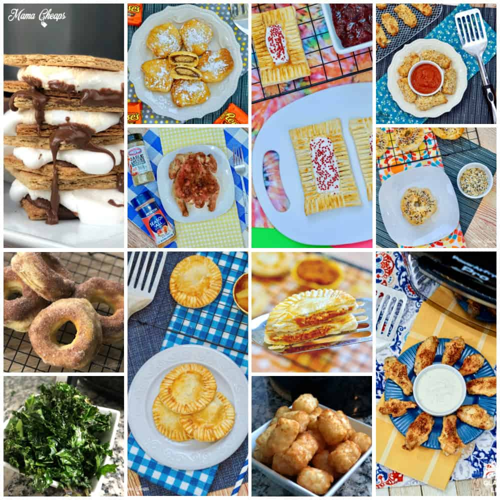 Air Fryer EASY Collage