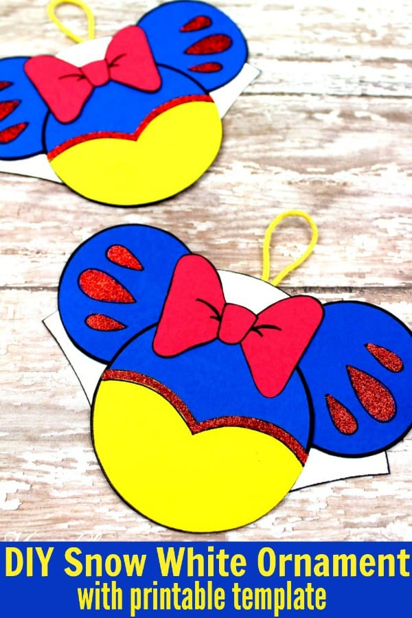 DIY Snow White Ornament PIN 2