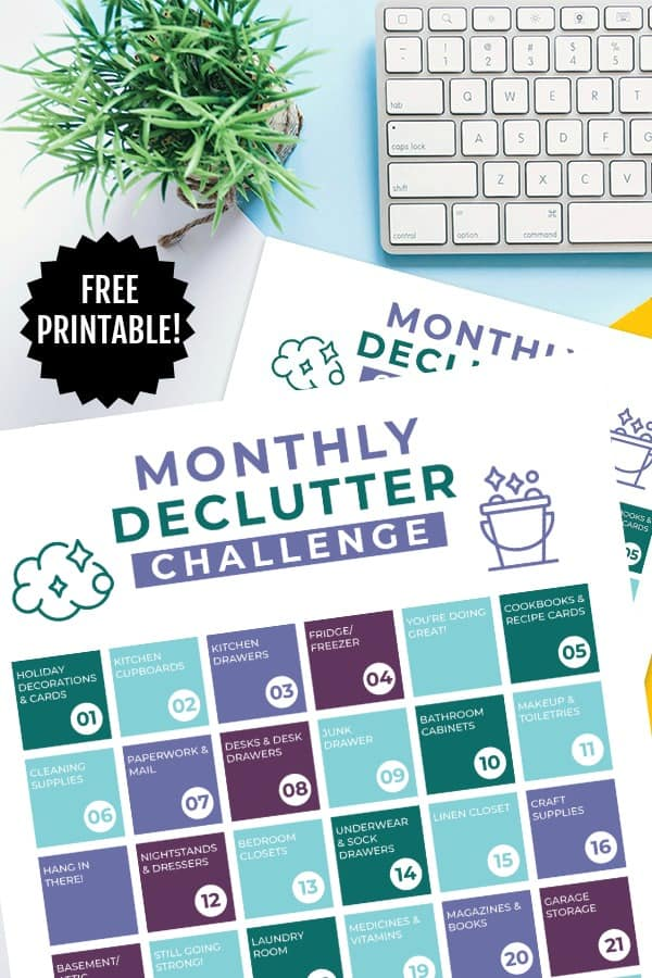 Declutter Challenge PIN