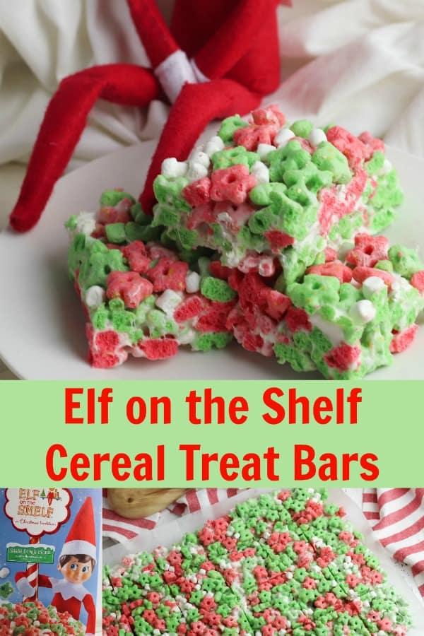 Elf cereal treat bars pin 1