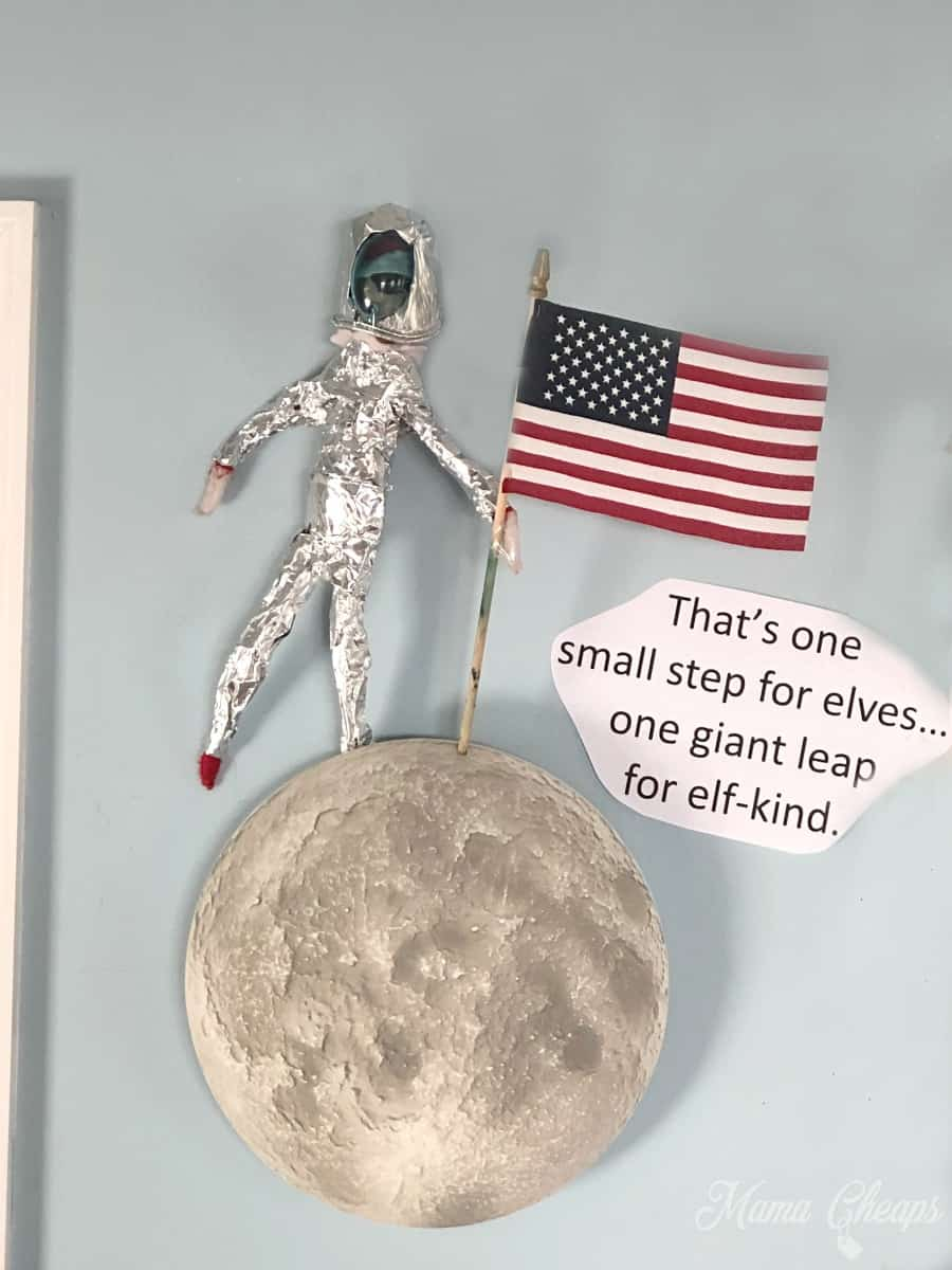 Elf on the Moon