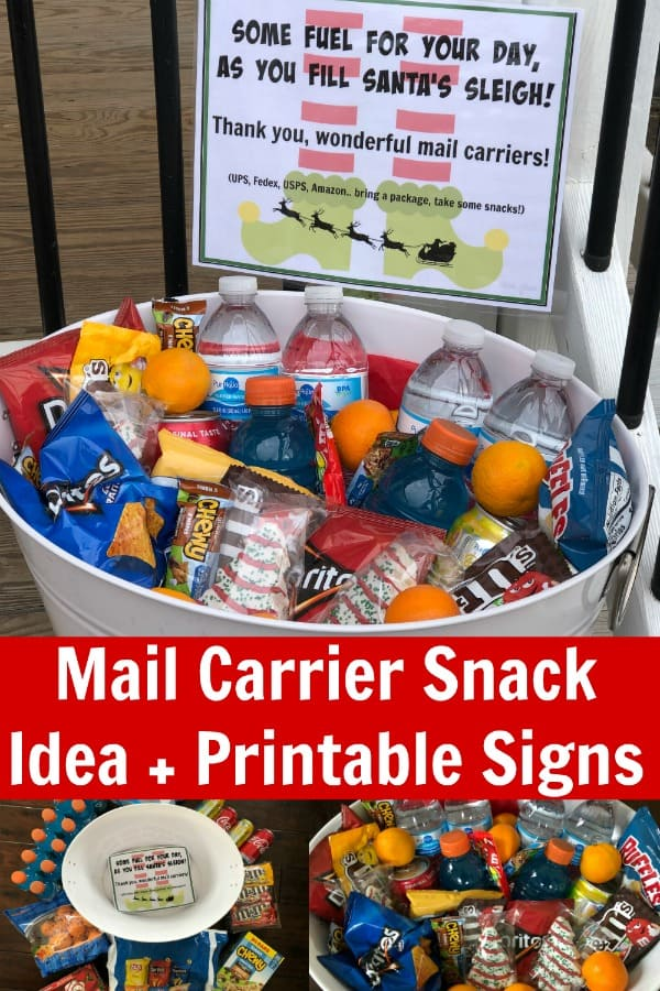 Mail Carrier Snacks PIN 2