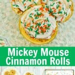 Mickey Mouse Cinnamon Rolls PIN