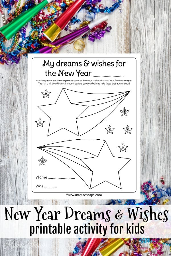 New Year Dreams & Wishes PIN