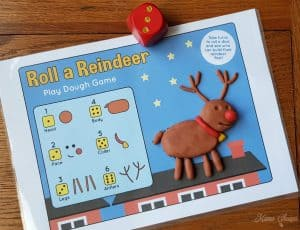Roll a Reindeer Printable Game 4