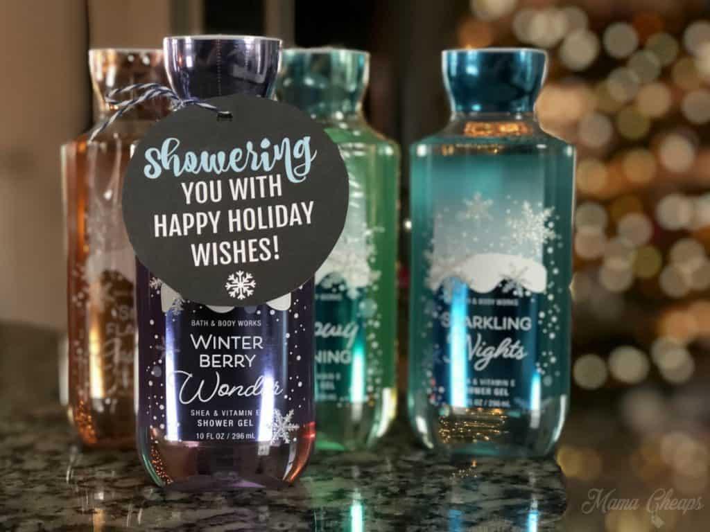 easy Shower Gel Teacher Gift