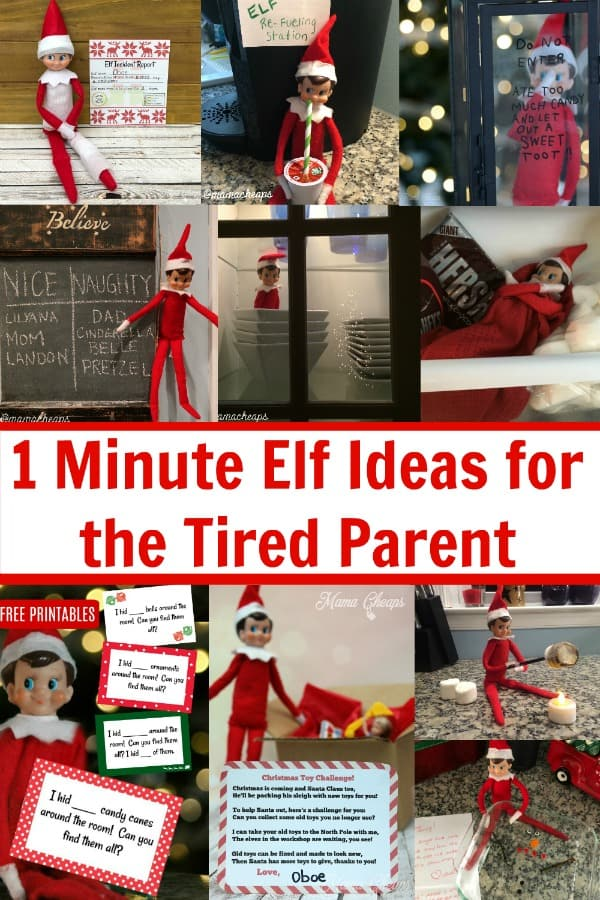 easy elf ideas