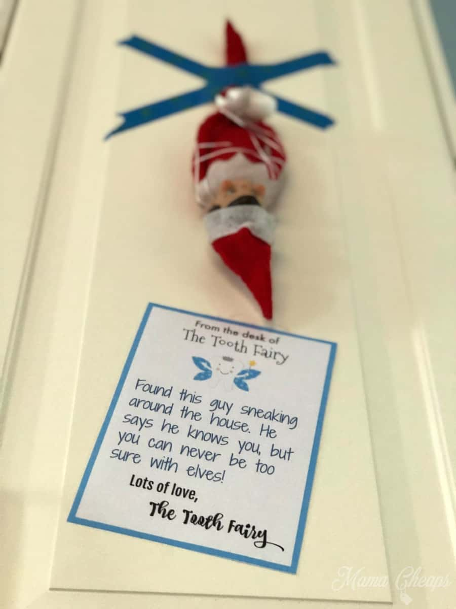 Tooth Fairy Note Elf