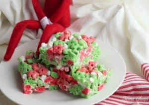 elf cereal treat bars