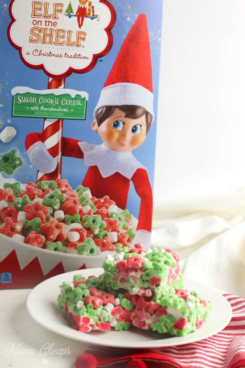 Kellogg's Elf on the Shelf Sugar Cookie Cereal with Marshmallow