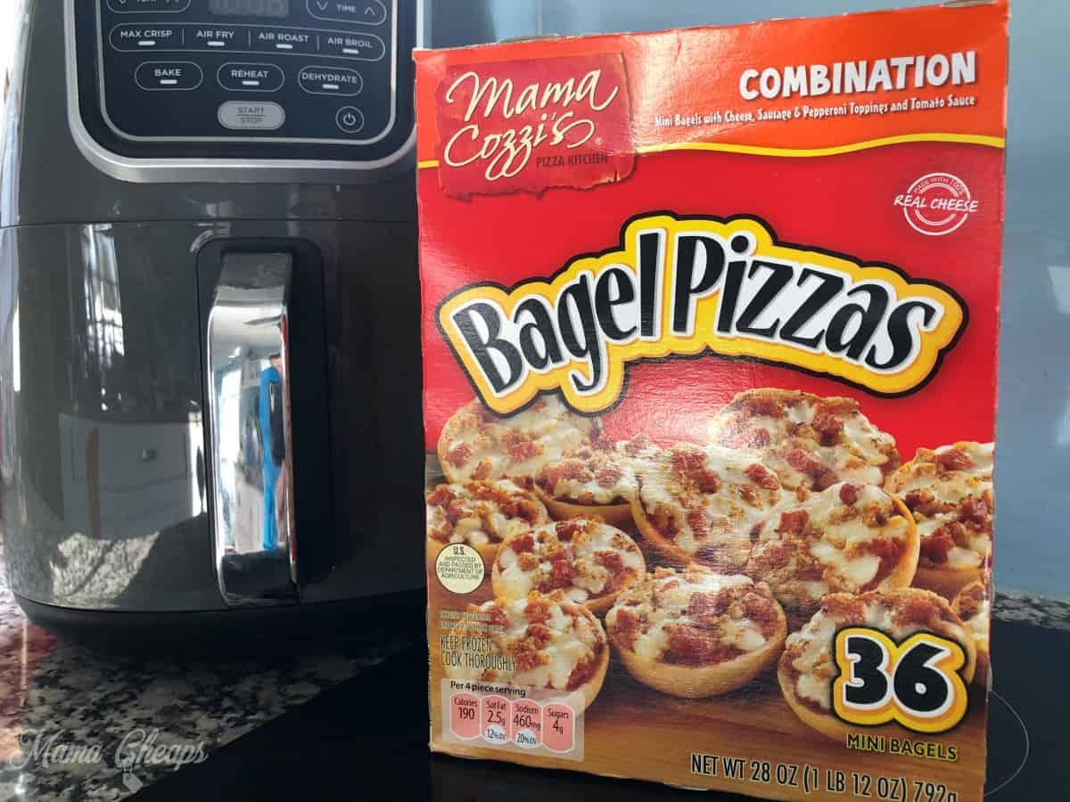 mama cozzi aldi bagel pizzas