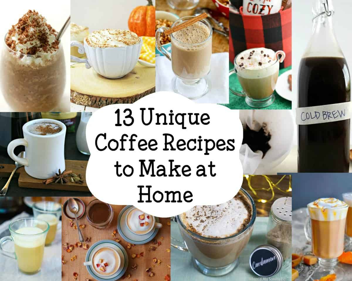 Coffee Recipes to Make at Home