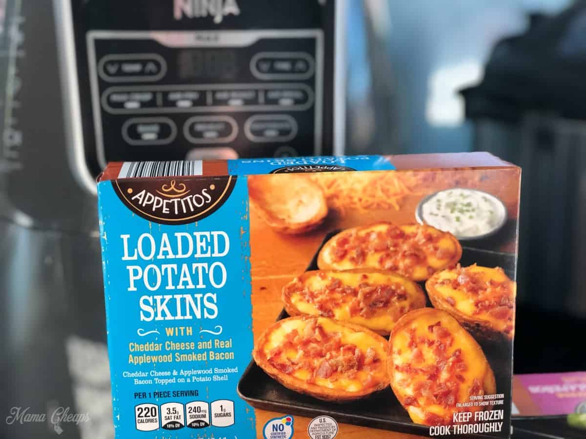 ALDI Frozen Loaded Potato Skins