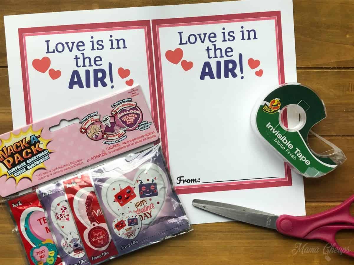 Balloon Valentines Supplies