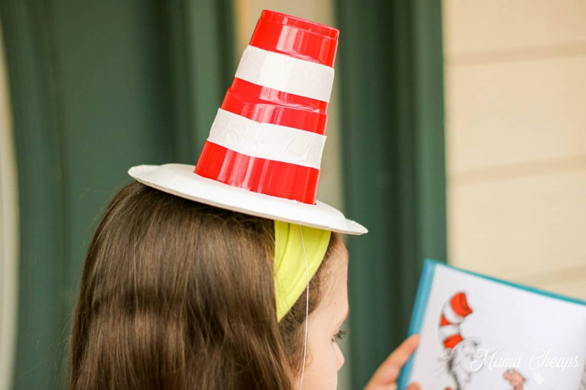 Cat in the Hat Solo Cup Party Hat 1