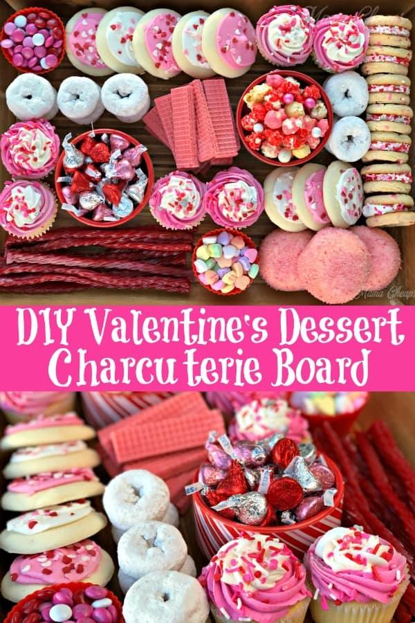 Charcuterie Board Valentine Dessert PIN