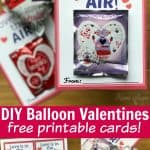DIY Balloon Valentines PIN