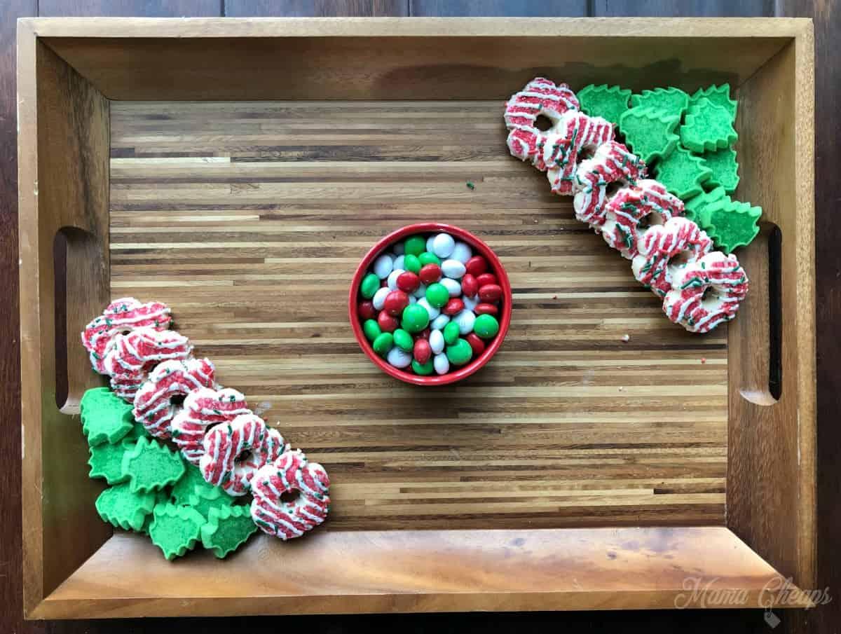 Dessert Charcuterie Corner Cookies