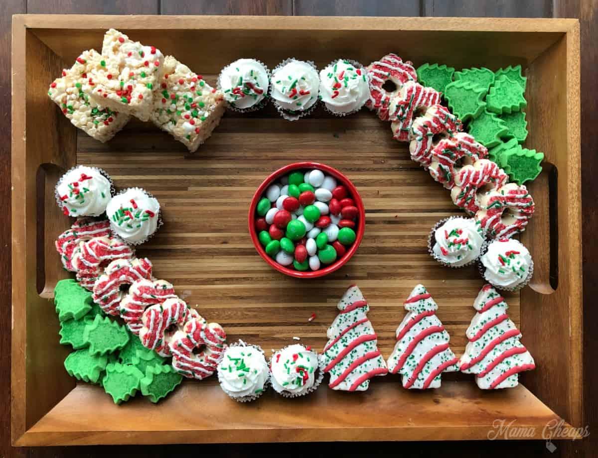 Dessert Charcuterie Mini Cupcakes