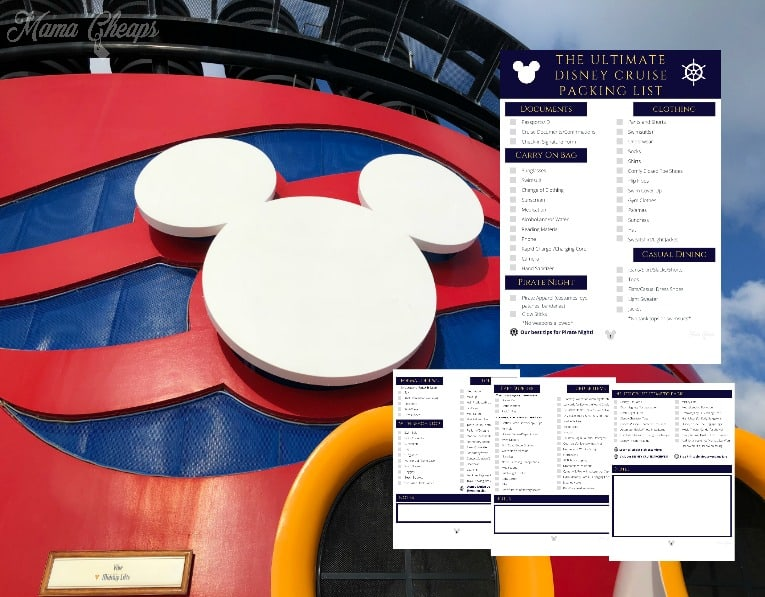 Disney Cruise Packing List Feature 2