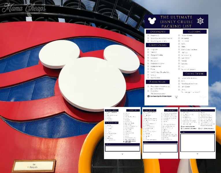 Disney Cruise Packing List Feature