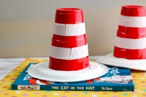 Dr Seuss Cat in Hat Solo Cup Craft