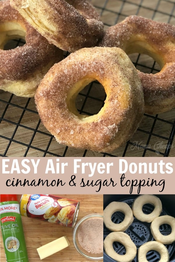 EASY Air Fryer Donuts PIN
