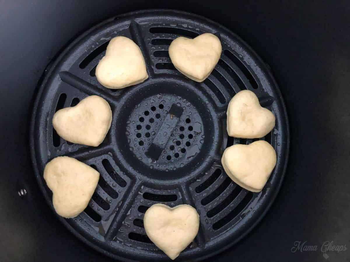 Heart Dough Air Fryer
