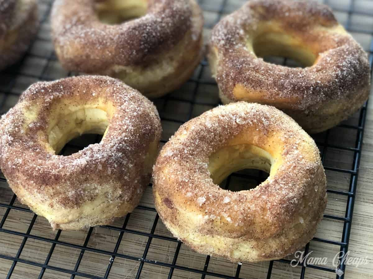 Homemade Donuts Cooling Rack
